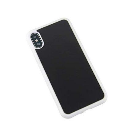 coque iphone xr anti gravite blanche